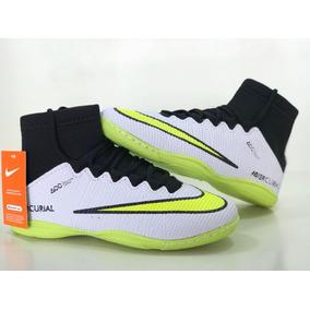 78a237d40db1a Chuteira Society Cano Alto Adidas Adultos Futsal - Chuteiras Branco ...