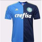 Camisa Oficial adidas Palmeiras Azul Iii