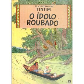 *sll* Gibi Tintim O Ídolo Roubado - Capa Dura Editora Record