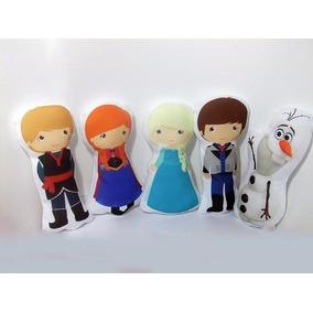 30 Almofada Personalizada Lembrancinha Frozen Fever 30cm