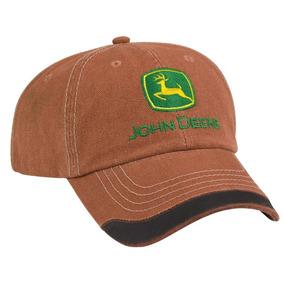 Cachucha John Deere 100 % Original Tela Ladrillo Lp53498