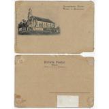Sc Anos 1910 Cartão Postal Foto Igreja Evangélica Timbó