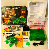 Nintendo 64 Donkey Kong Jungle Green-nintendo 64 - Fox Store
