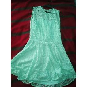 Vestidos cortos color verde agua