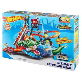 Pista Hot Wheels Lava Rápido Ataque Jacaré - Mattel