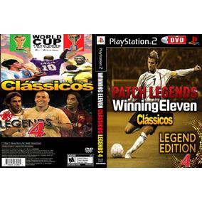 600b1729eb Winning Eleven Clássicos Legends 4 - Playstation 2 Dvd Ps2