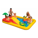 Pileta Play Center Inflable Intex Ocean 2 En 1 450l *10