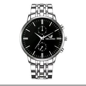 6d61acf51d7 Relógio Orlando Masculino Resina no Mercado Livre Brasil