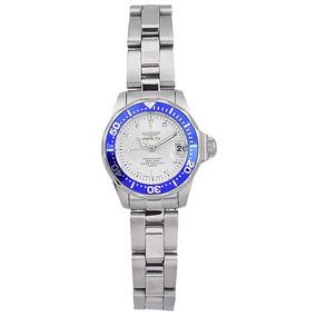 Reloj Para Dama Invicta 14125 Acero Inoxidable Caja Pequeña