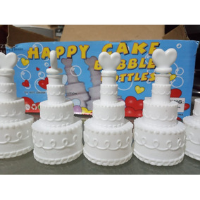 30 Burbujero Pastel Blanco Boda Cumpleaños Corazon Recuerdo
