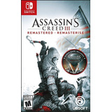 Juegos Digitales Nintendo Switch !! Assasins Creed Ill !!