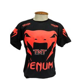 Camiseta Venum - Camisetas Manga Curta para Masculino no Mercado ... 81660a5277520