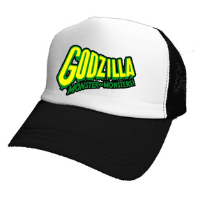 Gorras Godzilla Monster Retro Vintage  mr Korneforos  d34617531bf