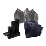 Bolsas De Basuras Negra 30kg Calibre 8 Super Fuertes