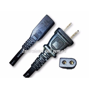 Cable De Poder O Corriente (2 Polos) Para Impresoras Y Otros