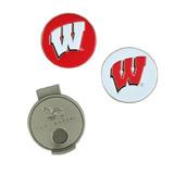 Wisconsin Badgers Hat Clipers Y Marcadores De Bolas