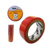 Fita Isolante Vermelha Antichama Com 10 Unidades 18mmx5m