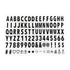 Kit Com 96 Letras Para Painel Led Lightbox