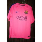 Camisa Barcelona Treino Rosa no Mercado Livre Brasil a8ae93561a4ce