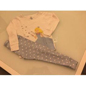 Kit Pijama 24 M Carters 1 Blusas Manga Comprida 1 Calça