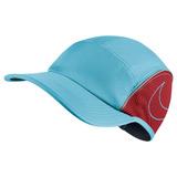 Boné Nike Aerobill Aw84 (azul Piscina)  running  triathlon 83eb0d9a582