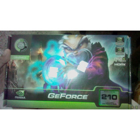 Tarjeta Nvidia Geforce 210 Pci-express 2.0 1gb 1024 Ddr3