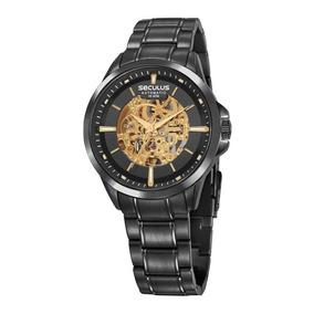Relogio Esqueleto - Relógio Seculus Masculino no Mercado Livre Brasil 5dfea60b09