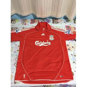Camiseta Liverpool adidas Raridade. R  1.000 d6bfe99922e