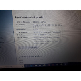 Notebook Probook Hp I5 8gb De Ram Hd 500