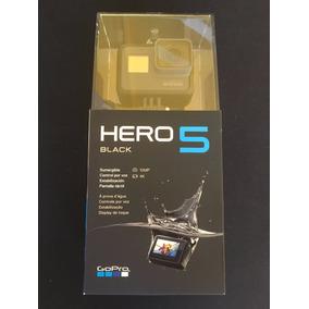 Gopro Hero 5 Black + 64gb Lacrada 1 Ano De Garantia