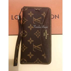 68a242c4c95 Funda iPhone 6 7 8 Plus X Xr Cartera Lv Louis Vuitton Case