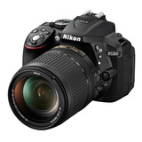 Camara Nikon D5300 Kit 18 55 +sd32gb+maletin