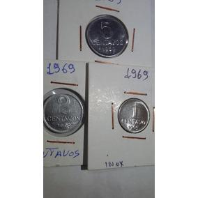 Set Completo De Centavos De 1969