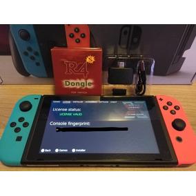 Nintendo Switch Desbloqueado + Ssd + Jogos + Dongle E Jig