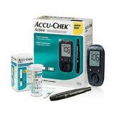 Kit Medidor De Glicemia/diabetes Roche Accu Check