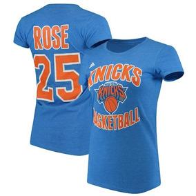 76af141e7c New York Knicks Derrick Rose Playera adidas Para Mujer