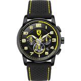 0fdc9dc0c645 Scuderia Ferrari Heritage Chronograph Negro Amarillo