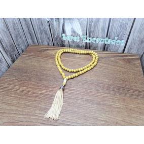 Japamala 108 Contas Madeira 8 Mm Rosário Budista Meditação