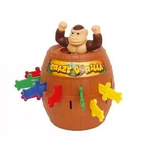Juego De Mesa Espadas Estrategia Ditoys Crazy Gorila Mono
