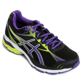 Tenis Asics Equation 9a Preto/roxo/verde (ta Barato Demais)