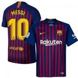 Camiseta Barcelona Local Vidal - Messi 2018 Version Jugador
