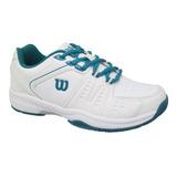 Calzado Mujer Wilson - Game Womens Blanco/azul - Tenis