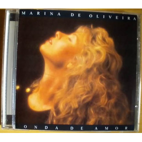 Cd Marina De Oliveira Onda De Amor