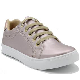 Calzado Tenis Moda Casual Bonitos Dama Rosa - Envio Gratis
