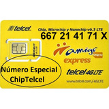 Chip Telcel 667 21 41 71 X Número Especial Lada 667 C/envío
