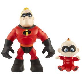 Mini Figuras - 7 Cm - Disney - Pixar - Os Incríveis 2 - Pack