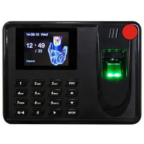 Reloj Checador Digital Huella Biometrico Cable Usb Software