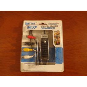 Tarjeta Capturadora De Audio Y Video Usb 2.0 A Rca Imexx