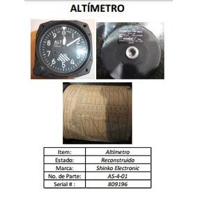 Instrumentos Navegacion Avion Altimetro Cessna