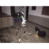 Montagem Equatorial Skywatcher Eq5 Com Motorização Porta St4